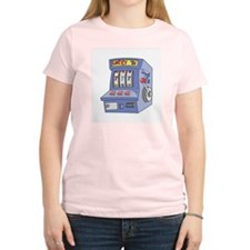 Slot Machine Women's Pink T-Shirt