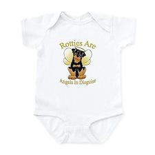 My Rottie is an Angel Infant Bodysuit