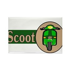 Scoot Rectangle Magnet