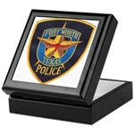 Fort Worth Police Keepsake Box