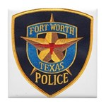 Fort Worth Police Tile Coaster