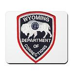 Wyoming Corrections Mousepad