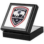 Wyoming Corrections Keepsake Box