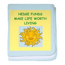 hedge fund baby blanket