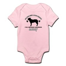 Belgian Laekenois Daddy designs Infant Bodysuit