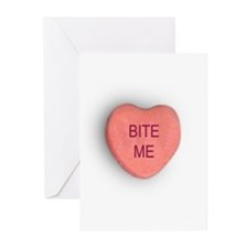 Bite Me Valentine Greeting Cards (Pk of 10)