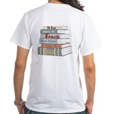 Teach Front&Back Shirt