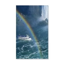 Niagara Falls and the Maid of the Wall Decal