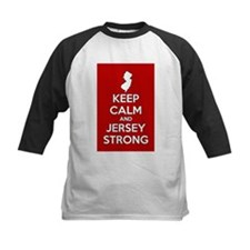Keep Calm Jersey Strong Baseball Jersey