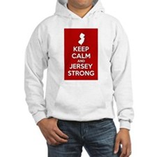 Keep Calm Jersey Strong Hoodie