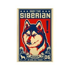 SIBERIAN Husky Propaganda Magnets -10 pack!