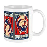 Obey the SIBERIAN HUSKY- Propaganda Mug