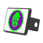 Buddha_green and purple.png Rectangular Hitch Cove