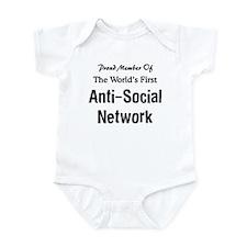 Anti-Social Network Infant Bodysuit