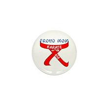 Proud Mom Karate Kid Mini Button (10 pack)