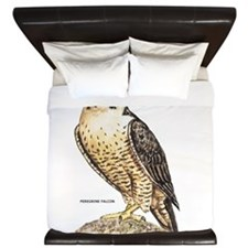 Peregrine Falcon Bird King Duvet