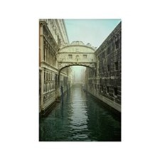 Bridge of Sighs in Venice Rectangle Magnet