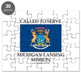Michigan Lansing Mission - Michigan Flag - Called