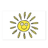 Happy Sun Postcards (Package of 8)