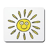 Happy Sun Mousepad