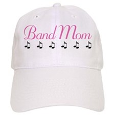 Band Mom Music Notes Baseball Baseball Cap