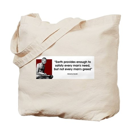 Earth provides... Tote Bag