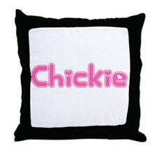 """Chickie"" Throw Pillow"