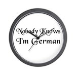 The German Wall Clock