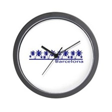 Costa brava Wall Clock