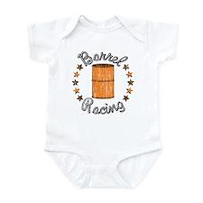 Retro Barrel Racing Infant Bodysuit