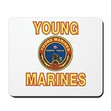 Young Marine Mousepad