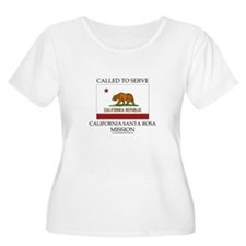 California Santa Rosa Mission - California Flag -