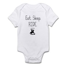 Cute Eat sleep horses Infant Bodysuit