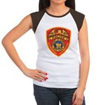 Suffolk Police Women's Cap Sleeve T-Shirt
