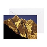 Mountain peaks Greeting Cards (Pk of 20)