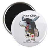 JackAce Donkeycaller have chips 2.25&amp;quot; Magnet