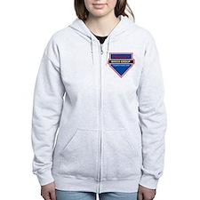 Editable Custom Brigade Shirt Zip Hoodie