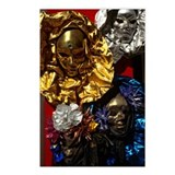 Masks in Venice Postcards (Package of 8)