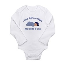 My Dad's a Cop Infant Creeper Body Suit