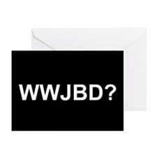 WWJBD Greeting Cards (Pk of 10)