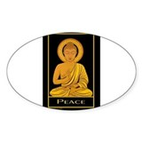 Peace Rectangle Decal Susan Allen Art Decal