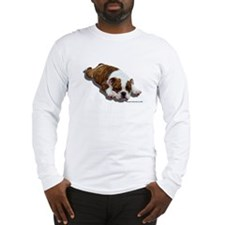 Bulldog Puppy 2 Long Sleeve T-Shirt