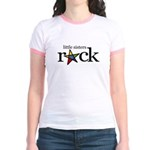 little sisters rock (star) Jr. Ringer T-Shirt
