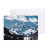 Maroon Bells , Aspen , C Greeting Cards (Pk of 10)