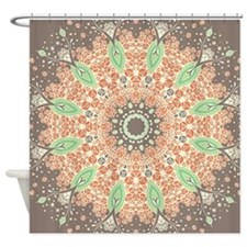 Mandala of Growth Shower Curtain