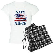 Navy Niece Pajamas