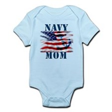 Navy Mom Body Suit