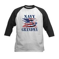 Navy Grandma Baseball Jersey