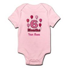 Six Months - Baby Milestones Body Suit