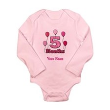 Five Months - Baby Milestones Body Suit